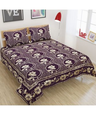 blue woven jacquard polyester CHENILLE FABRIC bed-sheets