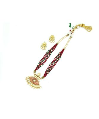 multicolor kundan necklace sets