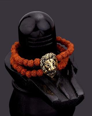 Mahadev Extension Rudraksha Beads Bracelet