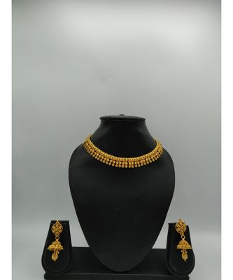 gold gold plated necklace sets