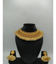 gold polki necklace sets