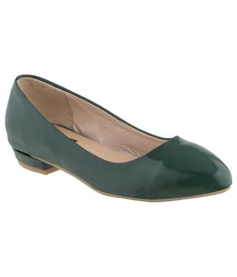 green SHOES DESIGNER BELLIES