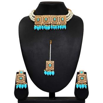 Blue Necklace Sets