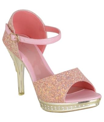pink SHOES STILETTO HEELS SANDALS