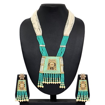 Turquoise necklace-sets