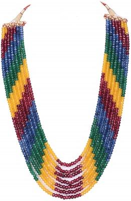Designer Multicolor onyx Semi precious beads necklace-sets