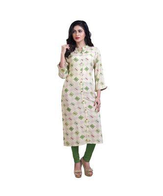 Lime &  Green kurta For Women