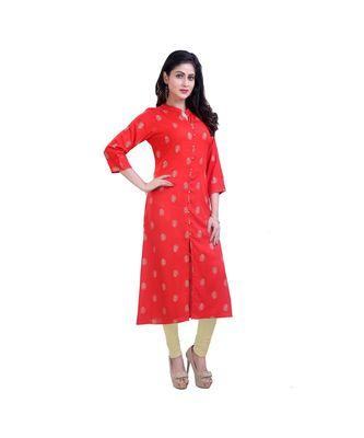 Red Kurta For Women