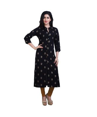 Black Kurta For Women