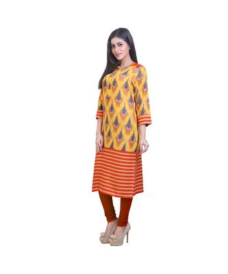 Yellow Kurta For Women