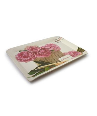 Ferrari Flowers Always High Grade Melamine Serving Plates