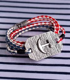 Braided Anchor Bracelet from Nautical