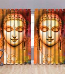 Buddha polyester curtains