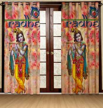 krishan polyester curtains