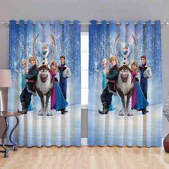 moose fairy polyester curtains