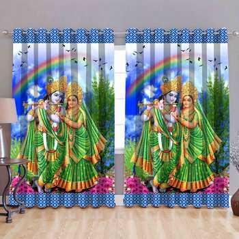 Radhe polyester curtains