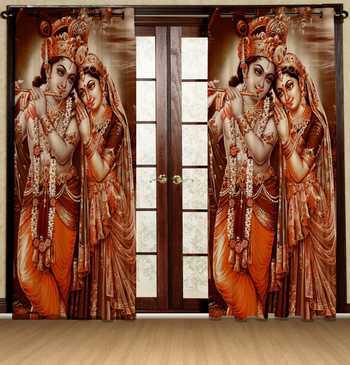 radhe krishan sunray polyester curtains