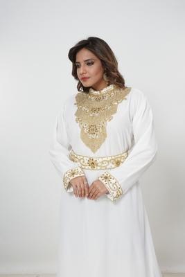 Dubai Kaftan Women Dress Moroccan Caftan Long Farasha Maxi Dress Al211