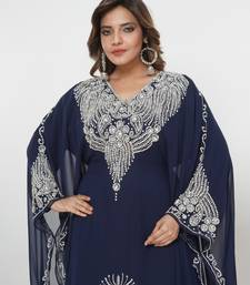 Dubai Kaftan Women Dress Moroccan Caftan Long Farasha Maxi Dress Al215