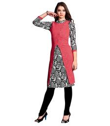 Women'S Multicolor Printed Georgette Ethnic Kurti