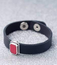 Striking Red Pendant Milestone Bracelet