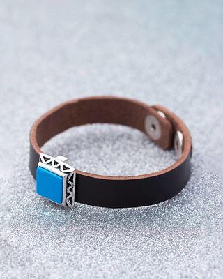 Milestone Turquoise Pendant Bracelet