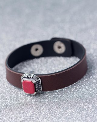 Accented Brown Milestone Bracelet