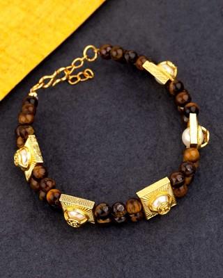 Healing Bracelet Yellow Gold Plated Bracelet