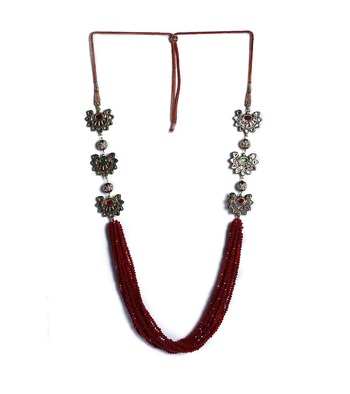 GORGEOUS RUST NECKLACE