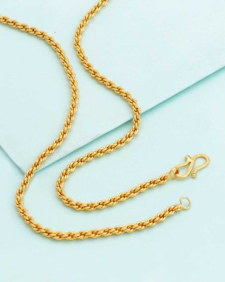 Classic Rope Link Chain Inspired by Golden Links
