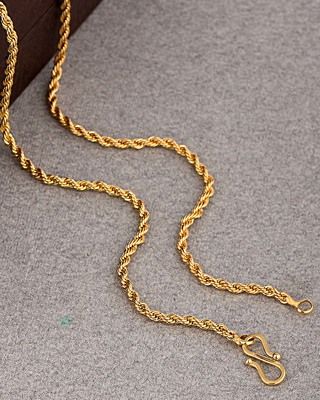 Golden Links Rope Link Chain