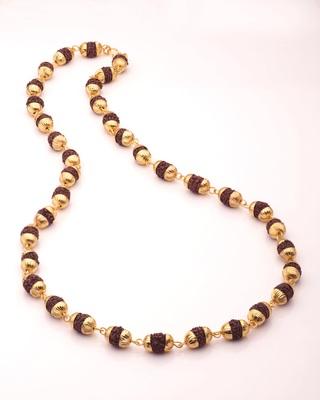Religious Faux Rudraksha Studded Chain