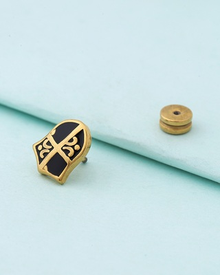 Royal Stud Shield Earring