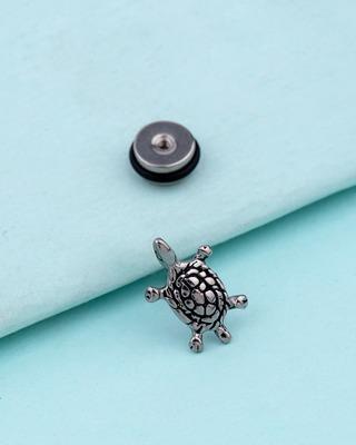 Royal Stud Tortoise Earring