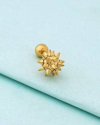 Royal Stud Starburst Earring