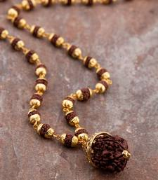 Rudraksha Classic Beaded Necklace
