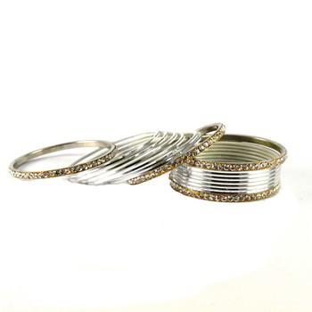 Amazing Bangles Color-Silver