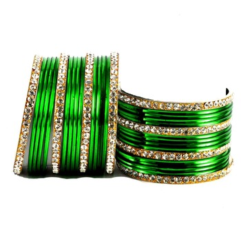 Marvellous Bangles Color-Green