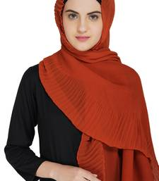 Creased Amber Headscarf