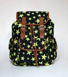 Buy Neon Green Star Backpack backpack online