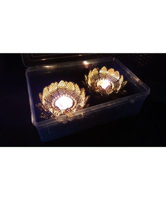 golden  Beautiful Candle holder