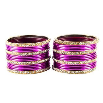 Wonderful Bangles Color-Purpal