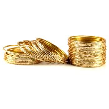classy bangles Color-Golden