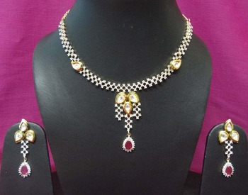 Silver Diamond necklaces