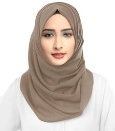 Daily Wear Ivory Color Scarf Hijab Dupatta For Women