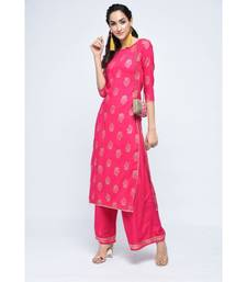 Beezing Pink kurta Set