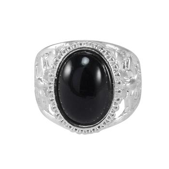Black Crystal Rings