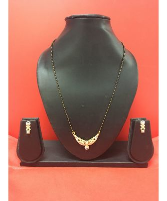 Black Gold_Plated Mangalsutra