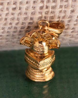 Faith & Trust Gold Plated Sheshnag Pendant