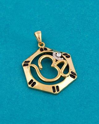 Designer OM Pendant Inspired by Spiritual Saga